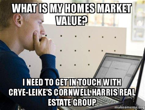 what is my homes market value i need to get in touch with