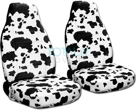 cowhide seat covers animal print car seat covers front semi custom zebra