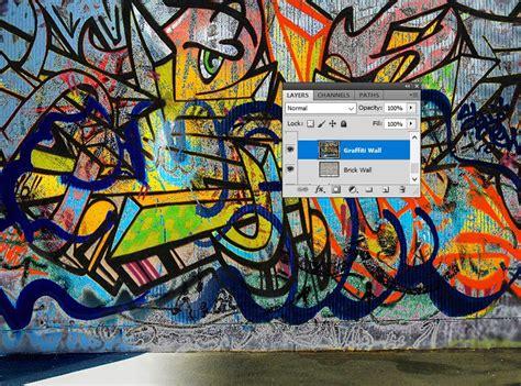 graffiti wallpaper photoshop how to create a graffiti effect in adobe photoshop