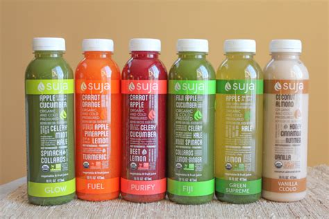 Suja Detox Drinks by Suja Juice My 3 Day Fresh Start Cleanse A Giveaway