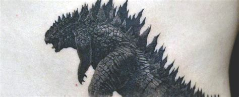 80 godzilla tattoo designs for men awakened sea monster ink