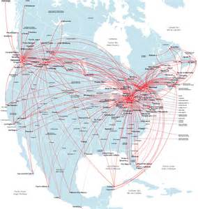 air canada route map america