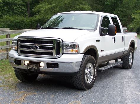 2006 ford f250 duty diesel mpg