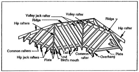 timber roofing terms roof framing terms home carpentry