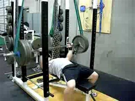 bench press with resistance band reverse band bench press www trainatp com youtube