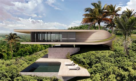 Mountainside Home Plans dymitr malcew bali hill house