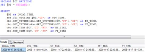 oracle date format javascript sql 2005 time zone conversion functions codeproject