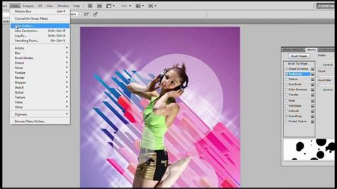 tutorial photoshop cs5 membuat poster photoshop tutorial create an electrifying music poster