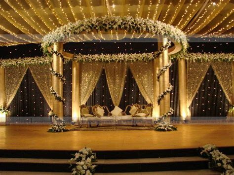 Wedding Card Decoration by Mark1 Decors Wedding Stage Decorators In South India