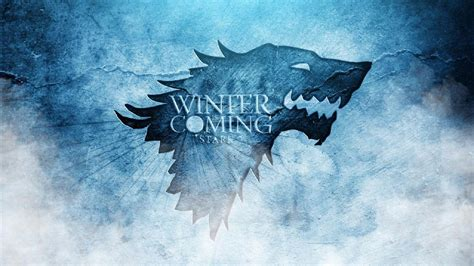 wallpaper game of thrones stark winter is coming wallpapers wallpaper cave