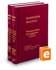 pattern jury instructions washington pattern jury instructions criminal 3d legal solutions
