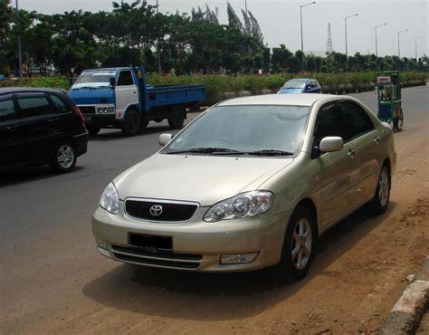 Toyota Corolla Altis Wiki File 2003 Toyota Corolla Zze122 Altis 1 8 G 01 Jpg