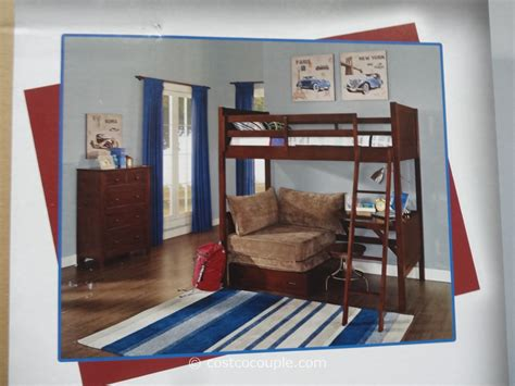 costco bed universal furniture bryson bunk bed