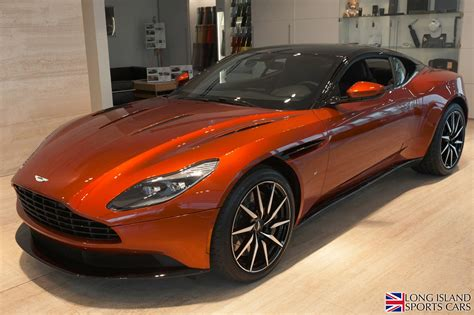 orange aston martin used 2017 aston martin db11 v12 roslyn ny
