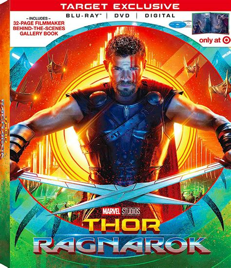 film thor ragnarok bluray thor ragnarok target exclusive blu ray disney cover