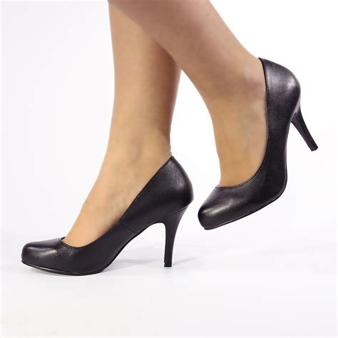 high heels 3 womens high heel court shoes pumps size 3 4 5