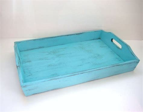 turquoise serving tray shabby chic turquoise home decor