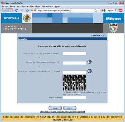 repuve consulta gratis en linea autos robados en mexico consulta de autos robados gratis autos post