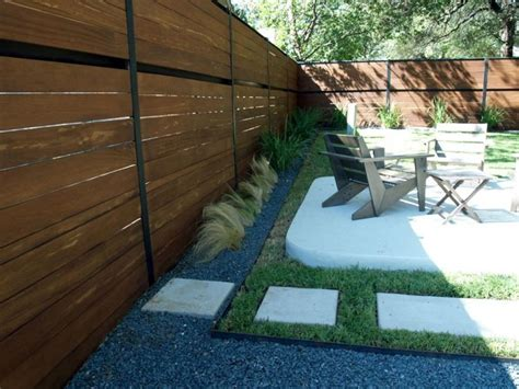 modern backyard fence 1000 images about fencing on pinterest