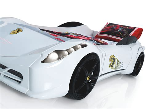 cars ferrari white ferrari 458 race car bed white car bed shop kids bed