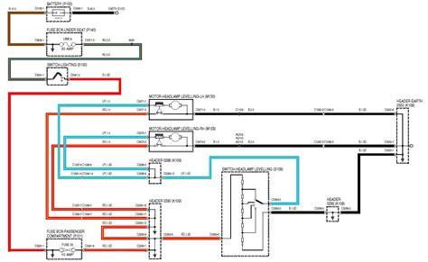 wiring wipac 337 series 160 headlight level motor defender forum lr4x4 the land rover forum