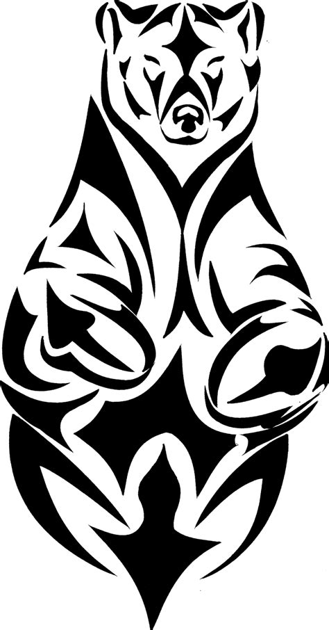 tribal bear tattoo designs tattoos designs ideas and meaning tattoos for you