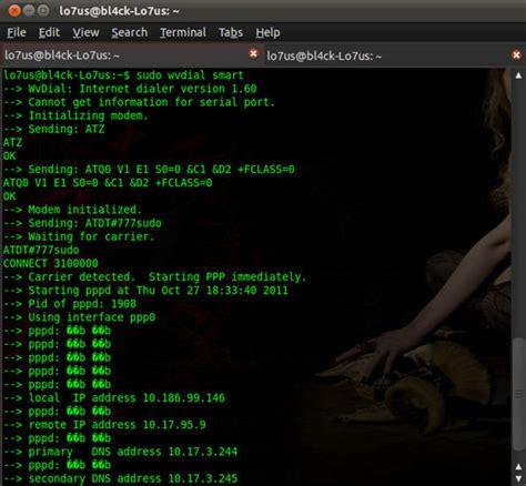 Modem Di Palembang cara instal modem smart di linux blasteren