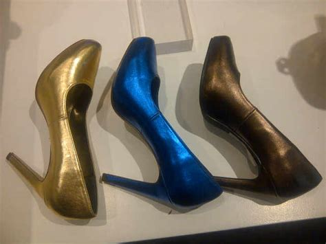 Shw598 Blue Sepatu Wedges 7cm sepatu by vincci azka onlineshop