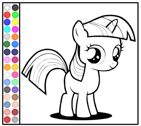my little pony coloring pages sweetie belle free kids