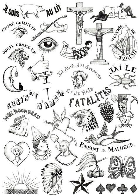 planche mauvais garcons tattoo tatouage dotwork
