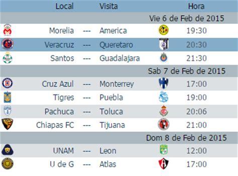 Calendario De Juegos Liga Mx Jornada 16 Posiciones De La Liga Mx 2016 Jornada 4 Calendar