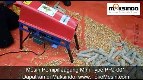 Harga Mesin Pemipil Jagung Mini mesin pemipil jagung mini type ppj 001