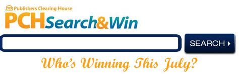 Pch Search And Win Email Pch Pch Winners Circle Part 10