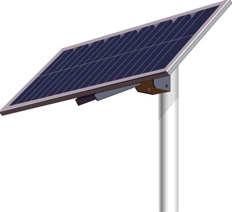 solar panels clipart solar panel pole clip art at clker com vector clip art