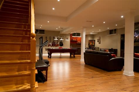 basement remodeling ideas low ceilings 014