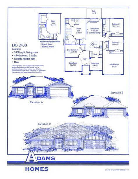 adams homes floor plans adams homes floor plans beautiful tiburon east adams homes