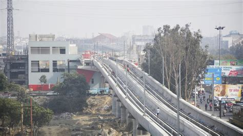 Its Mohan Nagar Mba Fees by Funding For Two Metro Extensions In Ghaziabad A Worry