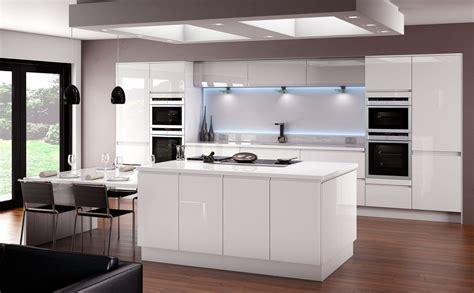 white gloss kitchen ideas horizon gloss white kitchen fitted traditional kitchens