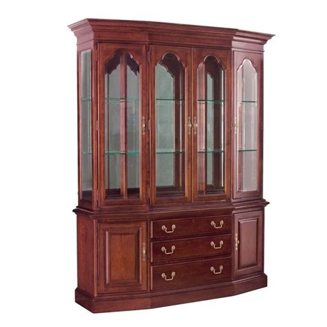 drew cherry grove china cabinet drew cherry grove china cabinet in antique cherry