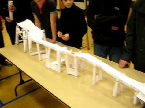How To Make A Bridge Out Of Paper - paper bridge building