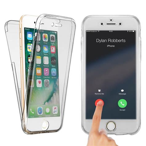 For Iphone 6 6s 360 Protect Soft Silicone Casing 1 360 176 silicone protective soft clear for iphone 6 6s gadgets house