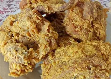 resep ayam goreng crispy ala kfc rumahan oleh rizka
