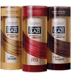 hair glaze color treatment pics john frieda s luminous color glaze thegloss