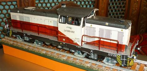 Paper Ls - lima ls 1000 locomotive free paper model