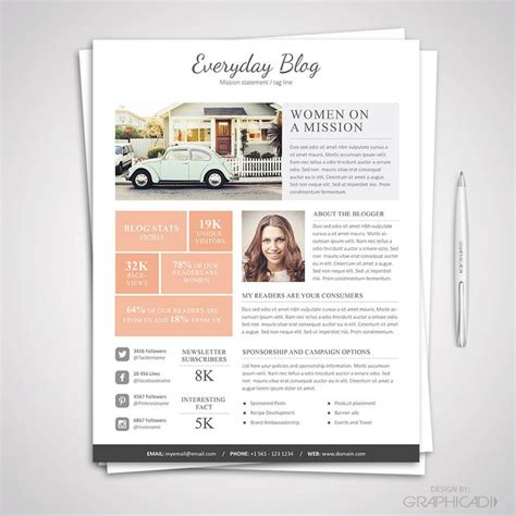 advertising media kit template 1000 ideas about ad design on web banners