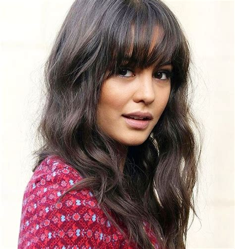 26 striking cuts with long hair and bangs 2017 hairstyle