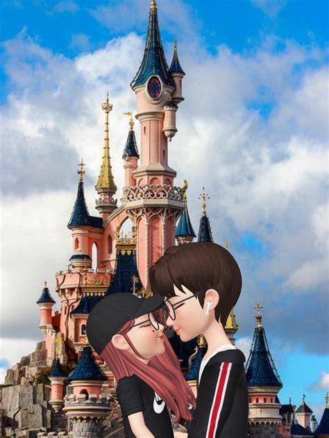 pin  kayce chong  zepeto cute love cartoons cute