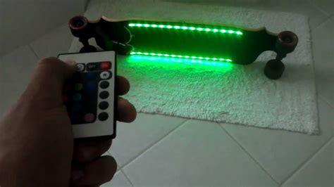 longboard led light kit led longboard youtube