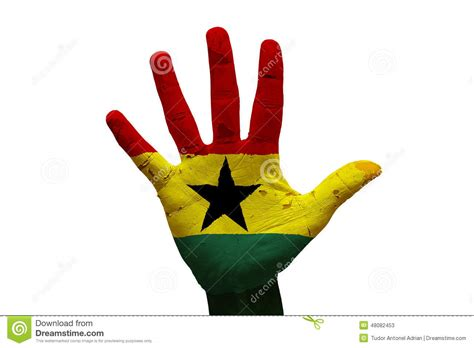 palm reading for millennials flags palm flag stock photo image 48082453