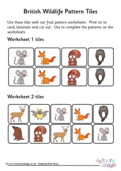 tile pattern worksheets pattern worksheets